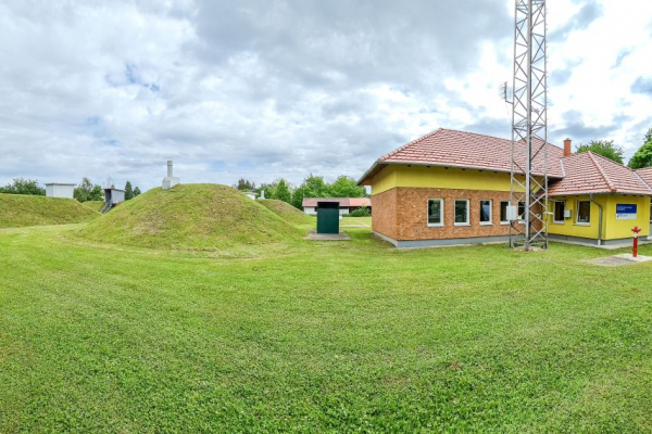 Büki vízműtelep, technológiai gépház