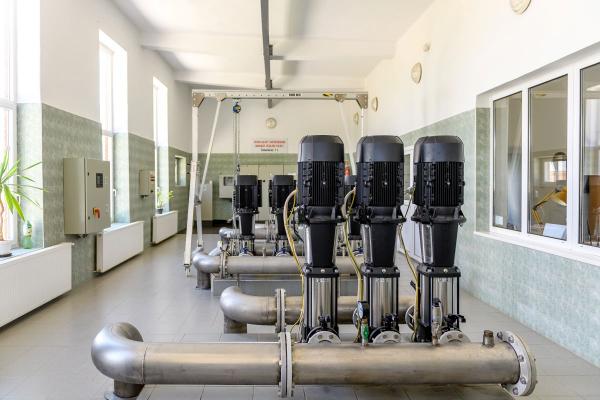 Villa-sori vízműtelep