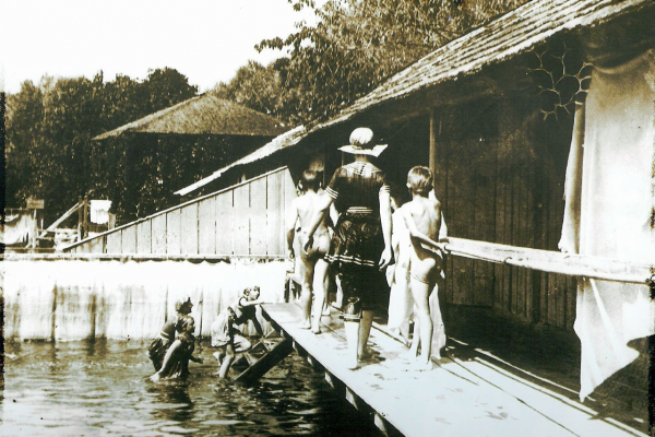 Nagyuszoda 1910 körül
